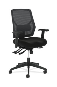 basyx by Hon VL582 Mesh High Back Chair with Asynchronous Control