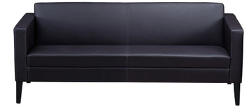 Mayline Prestige Lounge Sofa Black Legs