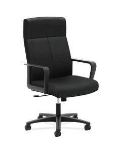 basyx by Hon VL604 High Back Chair, Black Fabric ES10