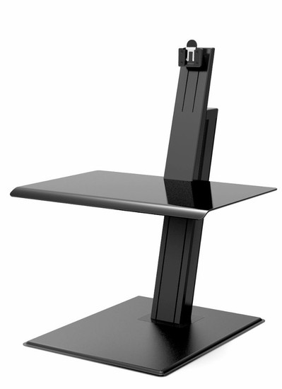 QuickStand Eco Single Monitor Sit Stand Desktop, black