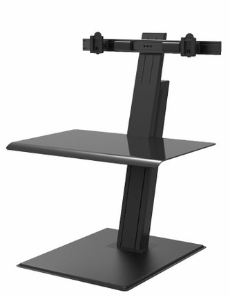 Humanscale Quickstand Eco Double Monitor Sit Stand Desktop