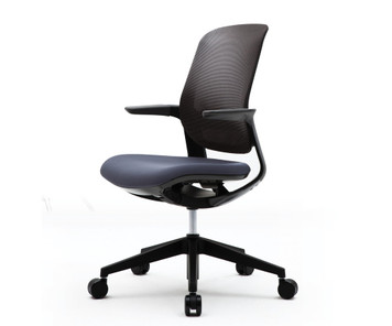 FLYT Black Mesh Back Task Chair