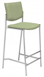 "Evolve Upholstered Stool, 30"" seat height"