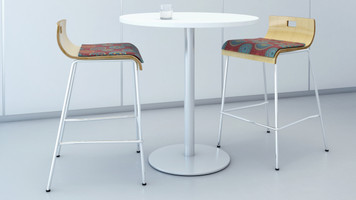 Fuse Table Round Laminate Top