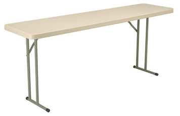 """Blow Mold Folding Table, 18"""" x 72"""""""