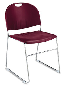 Stacking 2100 Chair in Burgundy