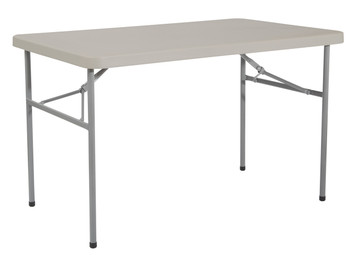 Resin Multi-Purpose Folding Table, grey