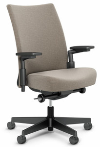 Knoll Remix Work Chair in Cinder 07