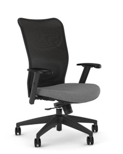 Kimball ITSA 2.0 24-7 Tasker with lower seat height range, Charcoal seat