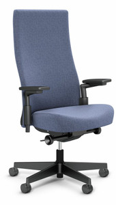 Knoll High Back Remix Work Chair in Catalina 03