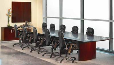 Napoli Wood Veneer Conference Table OfficeChairsUSA - Napoli conference table