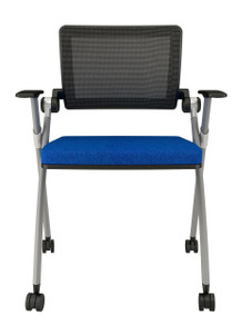Stow Training Chair Special Order with upholstered seat, arms and casters