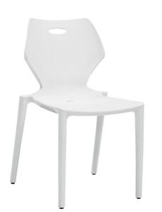 Kradl Stack Chair white