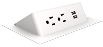 Ashley Duo Air Power Module, white plastic and white trim *Ships in 2 days!
