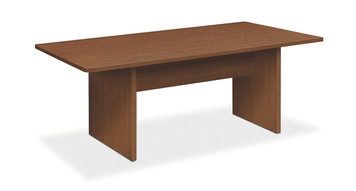 Foundation Rectangular Laminate Conference Table, Shaker Cherry