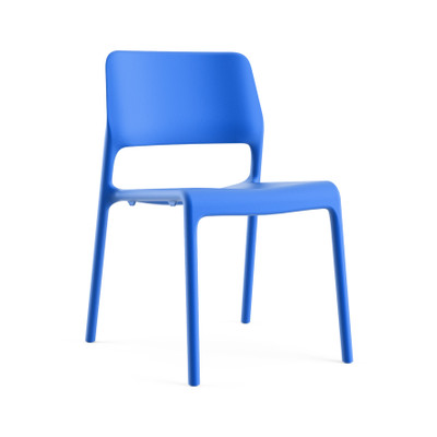 Knoll Spark Stacking Multi Purpose Chair In Blue (02)