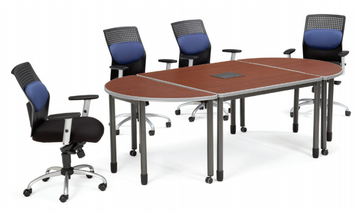 Mesa Series Modular Media Table. *Chairs sold separately