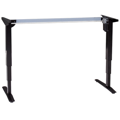501-43 Electric Sit-Stand Base ONLY, black