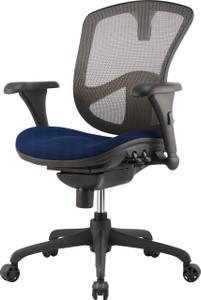 Relax Ergonomic Task Chair Blue