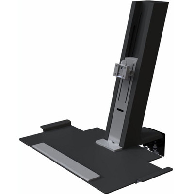 Humanscale QuickStand Large Platform with Black with Gray Trim Finish