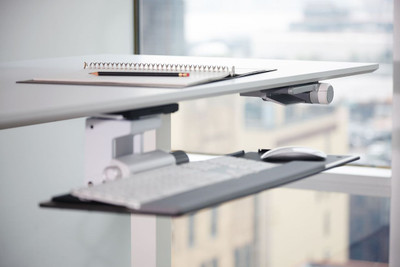 Optional Sit-Stand Keyboard
