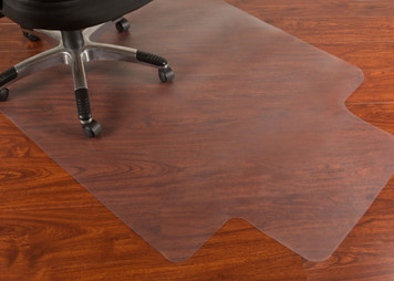 "Mammoth PVC Hard Floor Chairmat 45"" x 53"""
