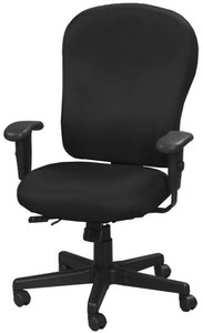 EuroTech  4x4 XL Center Tilt Task Chair with black fabric
