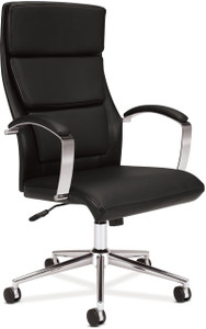 Basyx by Hon Leather Executive High Back Chair