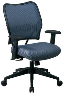 Deluxe VeraFlex® Back Chair with Synchro-Tilt in Blue Mist