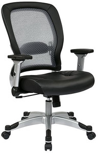 Eco Leather Seat Light Air Grid® Back Chair