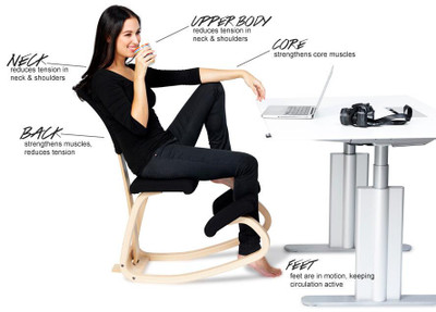 A healthier way to sit
