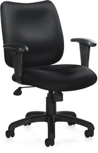Offices To Go Center Tilt Chair with Height Adjustable Arms