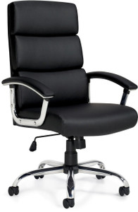 Offices To Go Luxhide Executive Segmented Cushion Chair