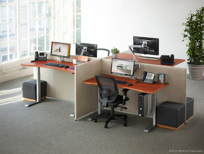 Sit to Stand Workstation Sit to Stand Desk OfficeChairsUSA