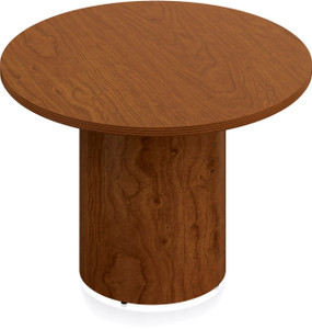 "Ventnor Wood Veneer 48"" Round Conference Table in Toffee (TCH)"