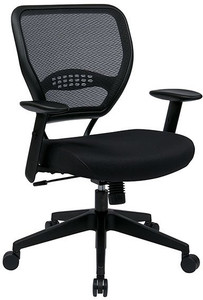 Black Mesh Air Grid® Back Task Chair