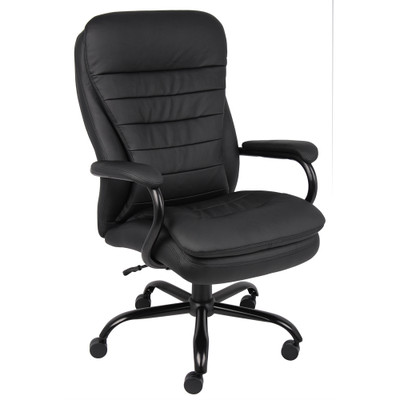 big & tall pillow top executive chair | officechairsusa