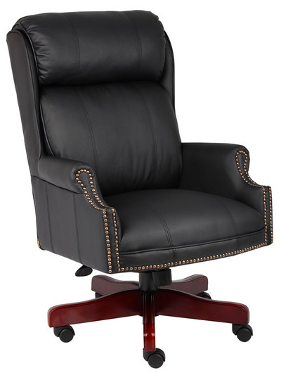 Traditional Executive Chair Traditional Leather Office Chair