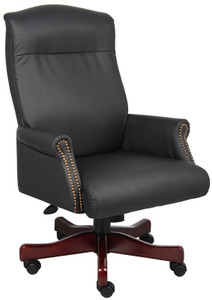 Traditional Box Arm Executive Chair