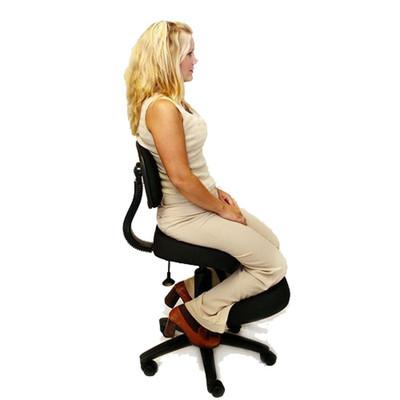 jobri solace plus memory foam kneeling chair officechairsusa