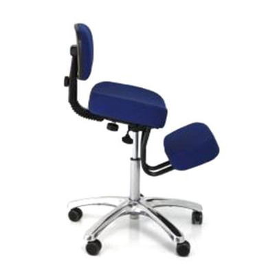 Charmant Jobri Jazzy Memory Foam Kneeling Chair In Blue