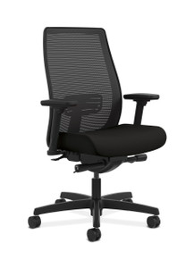 Hon Endorse Mesh Mid-Back in CU10 Black Seat