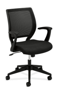 basyx by Hon Mesh Back Fixed Arm Task Chair