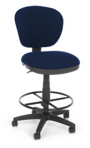 OFM 150 Series Task Stool in Blue 119