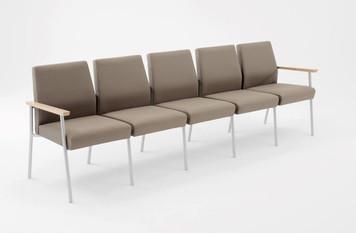 Lesro Mystic Guest/Reception Five Seat Sofa