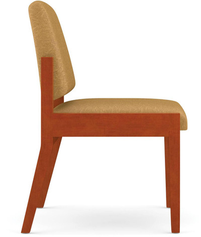wooden chair side view. Unique Wooden Amherst Wood Guest Chair Side View Without Arms Inside Wooden Side View Office Chairs Usa