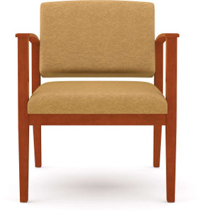 Amherst Wood Oversized Guest Chair