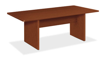 basyx by Hon Rectangular 6' Laminate Conference Table in Medium Cherry