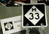 M-33 Sticker
