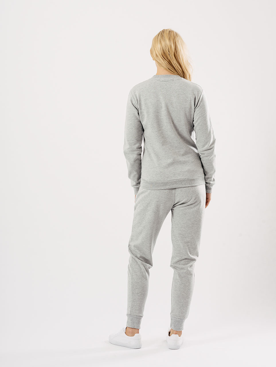 Grey Embroidered Lounge Wear Suit Sets